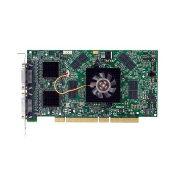 006445-001 Matrox Graphics 2MB PCI With VGA and Proprietary Output Video Graphics Card