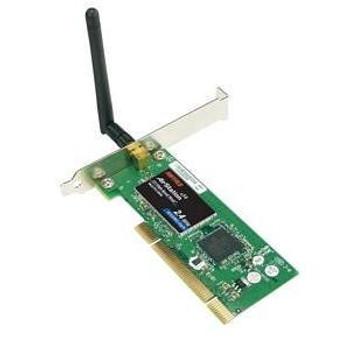 WLI2-PCI-G54S Buffalo AirStation 125 High Speed Mode Wireless Desktop PCI Adapter PCI 125Mbps (Refurbished)
