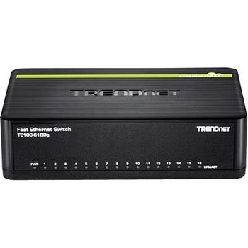 TE100-S16DG TRENDnet 16-Port 10/100mbps Greennet Switch (Refurbished)