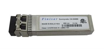 FTLX8571D3BCL-SSC Finisar 10Gbps 10GBase-SR Multi-mode Fiber 300m 850nm Duplex LC Connector SFP+ Transceiver Module