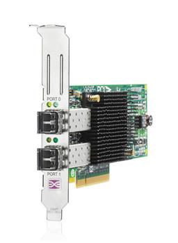 AJ763AS HP StorageWorks 82E 8GB PCI-Express Dual-Port Fibre Channel (Short Wave) Host Bus Adapter