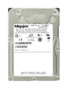 8E036J002535E Maxtor 36GB 15000RPM Ultra 320 SCSI 3.5 8MB Cache Atlas Hard Drive