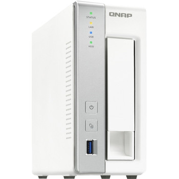 TS-131P-US QNAP Turbo NAS TS-131P SAN/NAS Server (Refurbished)