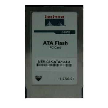 MEM-C6K-ATA-1-64M Cisco 64MB Flash Memory for Catalyst 6500 Supervisor ATA Type I