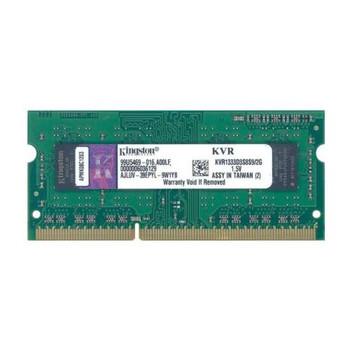 KVR1333D3S8S9/2G Kingston 2GB DDR3 SoDimm Non ECC PC3-10600 1333Mhz 1Rx8 Memory