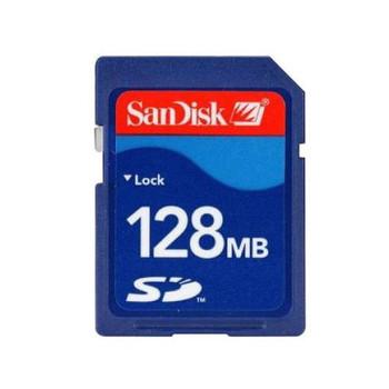 SDSDB-128-A10 SanDisk 128MB SD Flash Memory Card