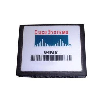 MEM-C6K-CPTFL64M Cisco 64MB CompactFlash (CF) Memory Card for Catalyst 6500 Supervisor 720