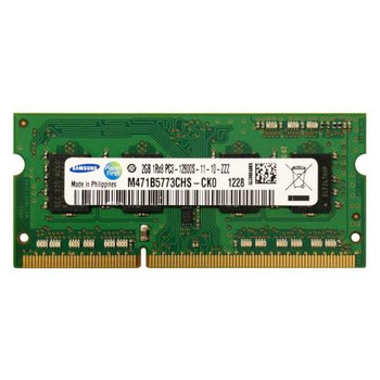 M471B5773CHS-CK0 Samsung 2GB DDR3 SoDimm Non ECC PC3-12800 1600Mhz 1Rx8 Memory