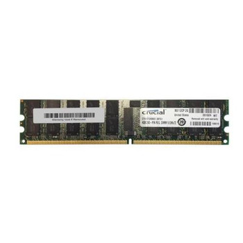 CT51272AB667.36FG1 Crucial 4GB DDR2 Registered ECC PC2-5300 667Mhz 2Rx4 Memory