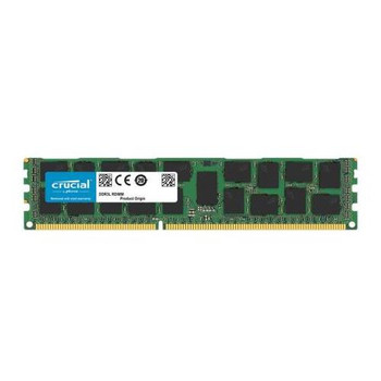 CT16G3ERSDD4160B.36FED Crucial 16GB DDR3 Registered ECC PC3-12800 1600Mhz 2Rx4 Memory