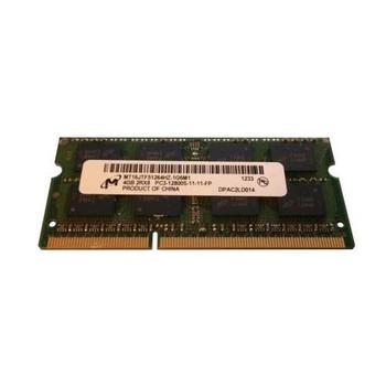 MT16JTF51264HZ-1G6M1 Micron 4GB DDR3 SoDimm Non ECC PC3-12800 1600Mhz 2Rx8 Memory