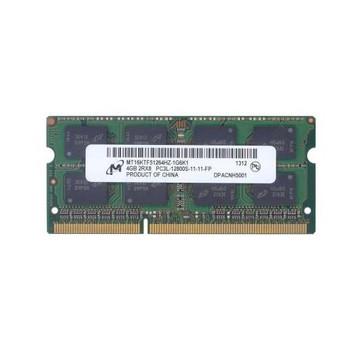 MT16KTF51264HZ-1G6 Micron 4GB DDR3 SoDimm Non ECC PC3-12800 1600Mhz 2Rx8 Memory