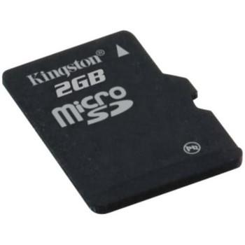 MBLYAG2/2GB Kingston 2GB microSDHC Flash Memory Card