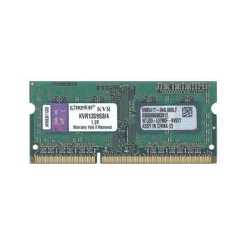 KVR13S9S8/4 Kingston 4GB DDR3 SoDimm Non ECC PC3-10600 1333Mhz 1Rx8 Memory