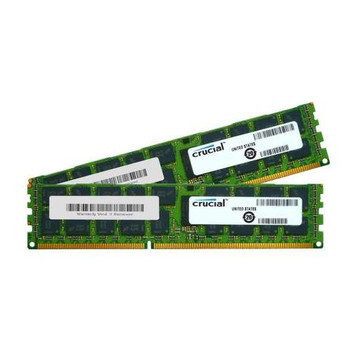 CT2KIT102472BB160B Crucial 16GB (2x8GB) DDR3 Registered ECC PC3-12800 1600Mhz Memory