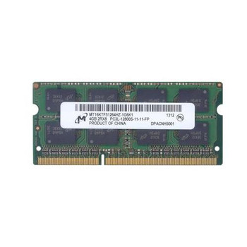 MT16KTF51264HZ-1G6K1 Micron 4GB DDR3 SoDimm Non ECC PC3-12800 1600Mhz 2Rx8 Memory