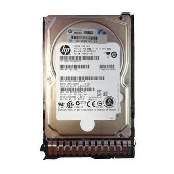 EG0300FBDSP HP 300GB 10000RPM SAS 6.0 Gbps 2.5 16MB Cache Hot Swap Hard Drive