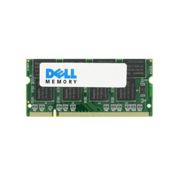 A15434613 Dell 1GB DDR SoDimm Non ECC PC-2700 333Mhz Memory