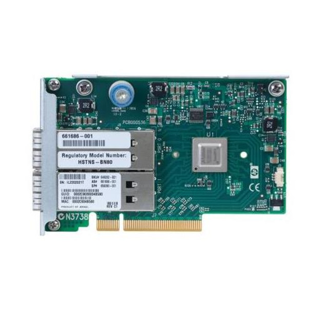 649282-B21 HP InfiniBand FDR/Ethernet 10GB/40GB 2-Port PCI Express Host Bus Network Adapter