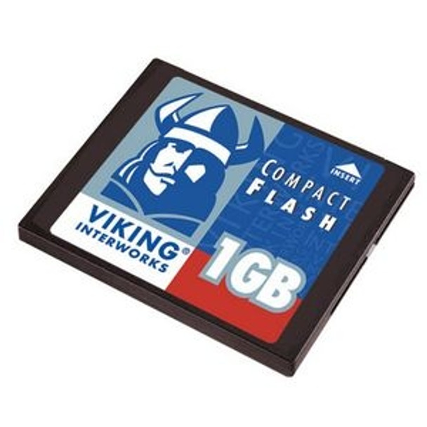 CF1GBHS Viking 1GB CompactFlash (CF) Memory Card