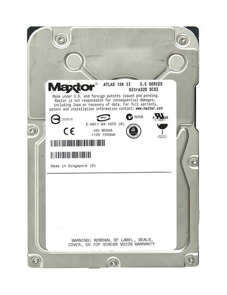8E036J002535E Maxtor 36GB 15000RPM Ultra 320 SCSI 3.5 8MB Cache Atlas Hard Drive