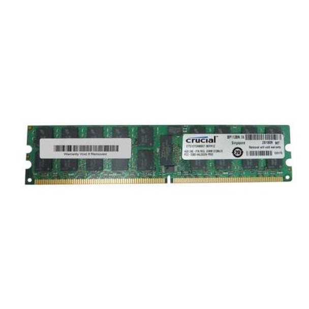 CT51272AB667.36FH1Z Crucial 4GB DDR2 Registered ECC PC2-5300 667Mhz 2Rx4 Memory