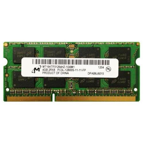 MT16KTF51264HZ-1G6M1 Micron 4GB DDR3 SoDimm Non ECC PC3-12800 1600Mhz 2Rx8 Memory