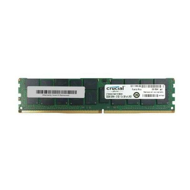 CT32G4LFQ4213 Crucial 32GB DDR4 Registered ECC PC4-17000 2133Mhz 4Rx4 Memory