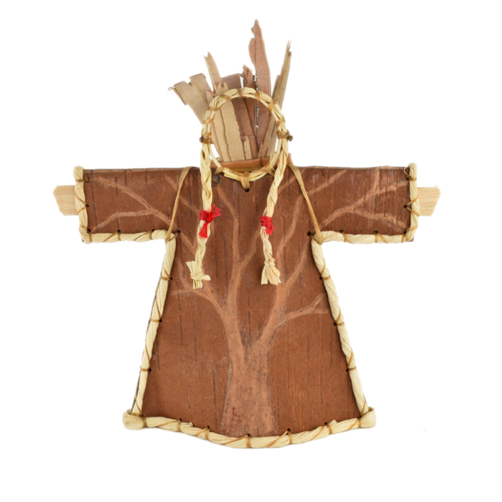 Turtle Woman Birchbark Effigy by Aron Griffith (Maliseet).