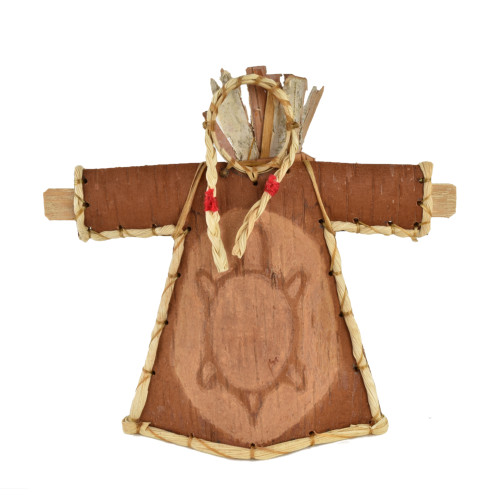 Tree Woman Birchbark Effigy by Aron Griffith (Maliseet).