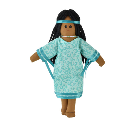 Native Woman Doll