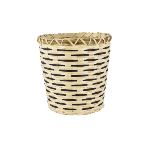 Dolly Barnes's Miniature Waste Basket by Dolly Barnes (Passamaquoddy).