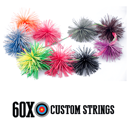 Bow String Cat Whisker Silencers:Pink, Purple, Fluorescent Green, Blue, Orange