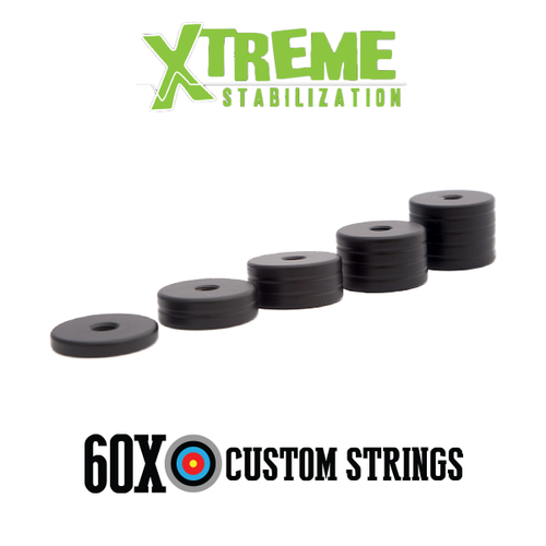 Xtreme Stabilization Black / Stainless Countdown Weight System