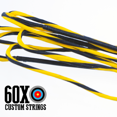 60X D97 2 Color Custom Crossbow String