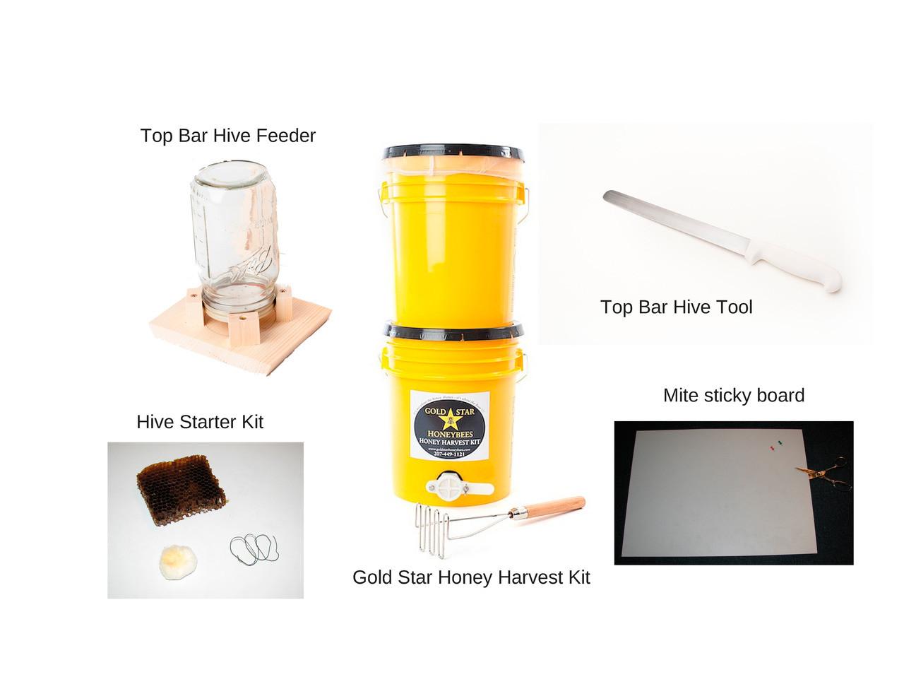 Top Bar Beekeeperu0027s Tool Package