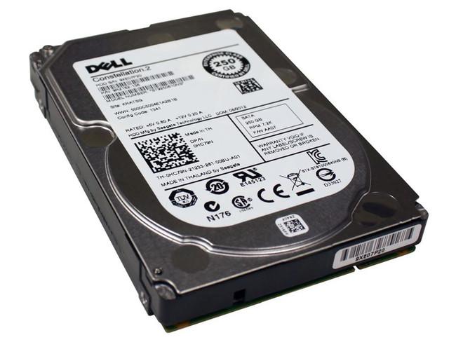 """Dell HC79N Hard Drive 250GB 7.2K SATA 2.5"""""""