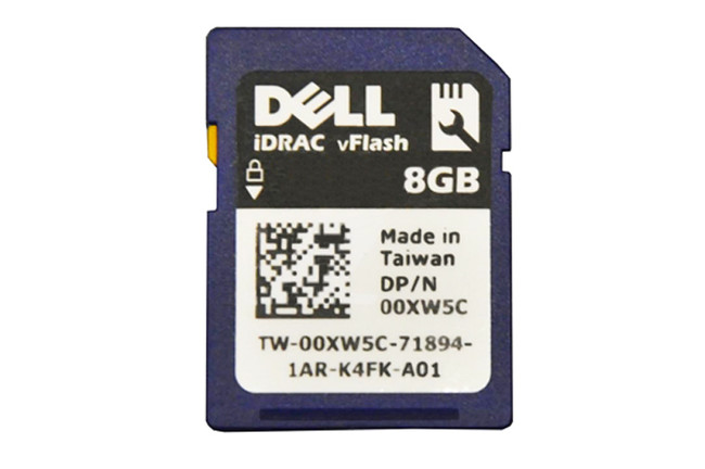 Dell 0XW5C VFlash SD Card 8GB