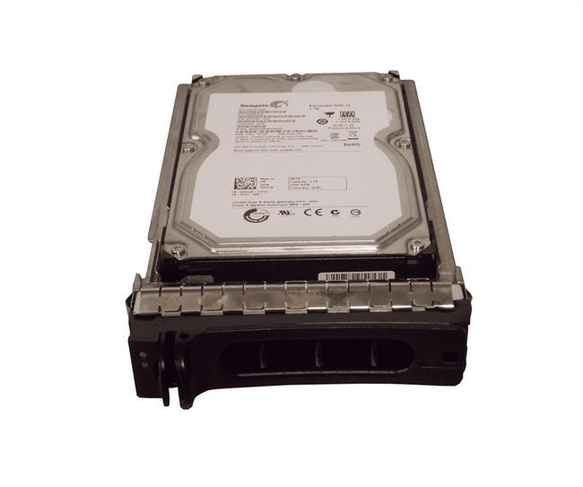 """Dell DDJJ0 Hard Drive 1TB 7.2K SATA 3.5"""" in Tray"""