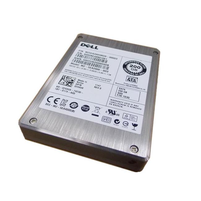 "Dell 24XV8 Hard Drive 200GB SSD SAS 2.5"""
