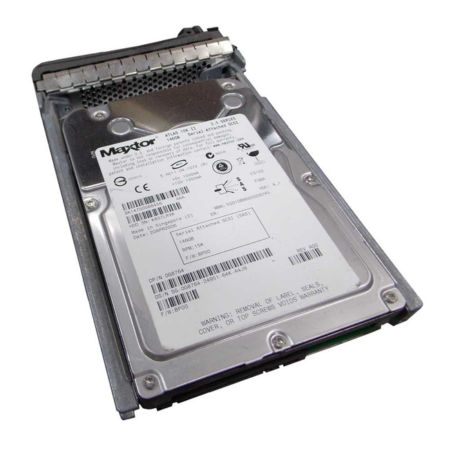 "Dell G8764 Hard Drive 146GB 15K SAS 3.5"" in Tray"