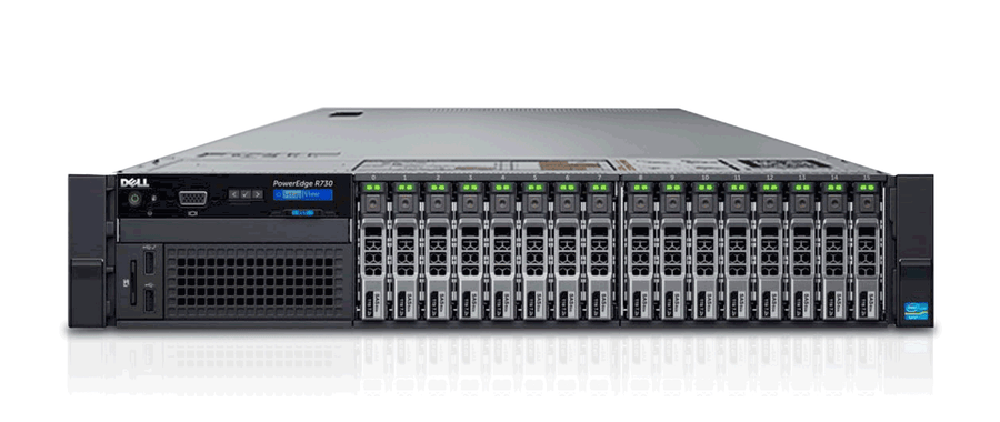 "Dell PowerEdge R730 Server - 2.5"" Model - Customize Your Own"