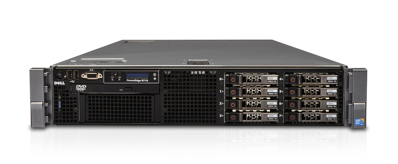 dell poweredge r710 server 2 5 model customize your own. Black Bedroom Furniture Sets. Home Design Ideas