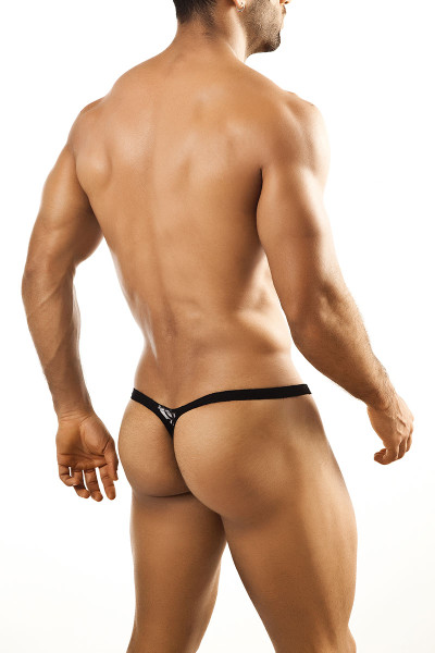 2c7c6e6b4 ... Black Lace - Joe Snyder Bulge Thong JSBUL-02 - Rear View - Topdrawers  Underwear