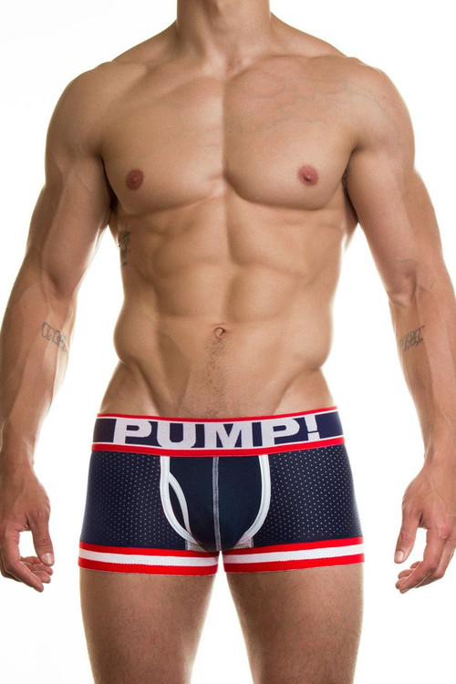 PUMP! Underwear Big League Boxer Brief 11040 from Topdrawers Menswear - Front View 2