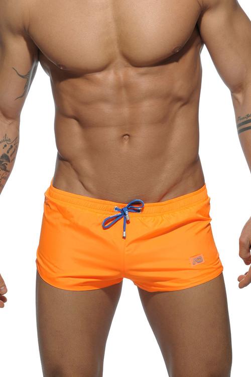 04 Orange - Addicted Basic Mini Swim Short ADS111 - Front View - Topdrawers Swimwear for Men