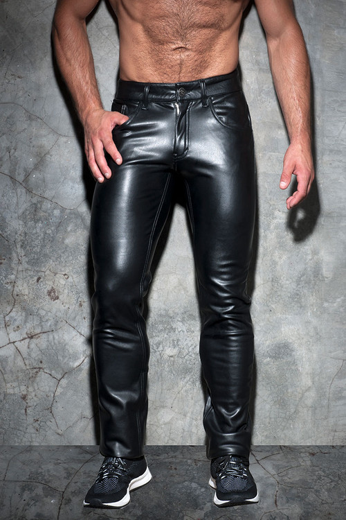 Addicted Fetish Fetish Long Pant ADF101 - Front View - Topdrawers Menswear