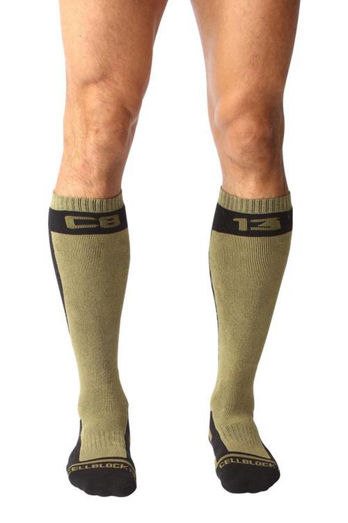 CellBlock 13 Full Throttle Knee High Sock A056-AR