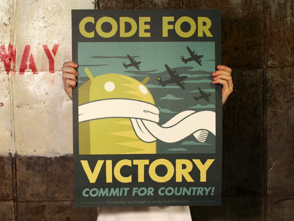 Code for Victory Print
