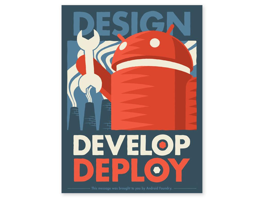 Android Foundry Progress Print Set